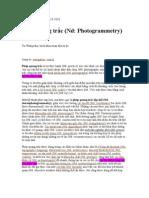 Phép quang trắc (Photogrammetry) - bản dịch tiếng Việt từ Wikipedia