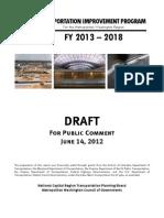 FY2013-2018 TIP