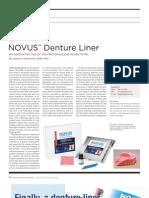 Novus Dentire Liner