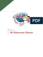 Twenty Classroom Games