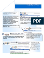 Google Tips and Tricks the Best Graphical Help