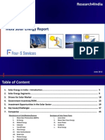 Four-S Services -Solar Energy Report