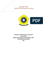 Laporan Praktikum Elektronika Analog 2011 (Unsri)