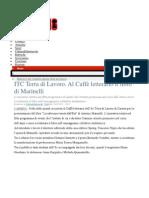 Caffe' Letterario Presentazione Romanzo La Salvezza Venuta Dall'Est Di Marinelli Antonio