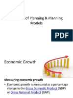 Theories of Planning & Planning Models