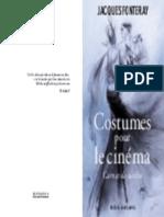 DESSINS DE COSTUMES POUR LE CINEMA