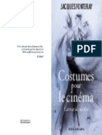 DESSINS DE COSTUMES POUR LE CINEMA