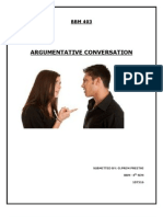 The Argumentative Communicator