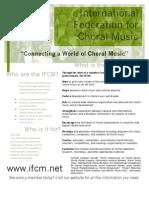 IFCM Flyer