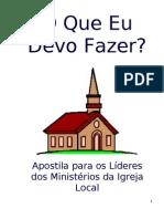 A Lideranca Da Igreja