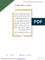 Manaqib Syekh Abdul Qodir Al Jaelani