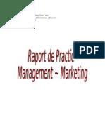 Raport de Practica Management-Marketing