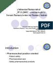 Revolutionary Indonesian Pharmaceutical Practice Act