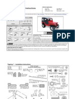 Bestop Tigertop Manual for Jeep CJ-5