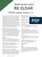 Dark Eldar 1.2