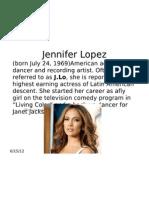 Jennifer Lopez Media