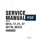 EX13/17/21 Service Manual
