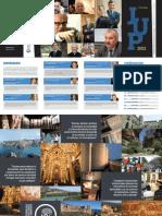 Folleto Jornada universitaria de los Pirineos 2012