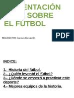 Trabajo Sobre El Futbol