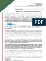 Resumen de Prensa 15-06-2012