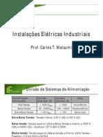Instalações Elétricas Industriais  Slides Parte I
