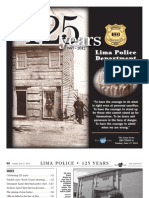 Lima Police Department 125th Anniversary