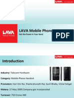 LAVA Mobiles (Final)