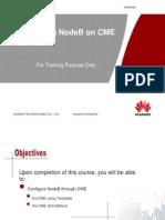 Configure NodeB Through CME