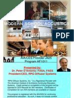 Acoustics RPG Diffusion