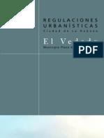 Regulaciones Urbanísticas del El Vedado; en La Habana.