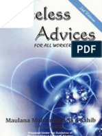 Priceless Advices for All Workers of Deen