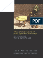 Saharan and North African Toy and Play Cultures