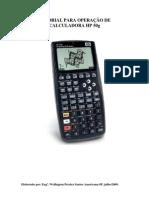 TUTORIAL PARA OPERAÇÃO DE CALCULADORA HP 50g