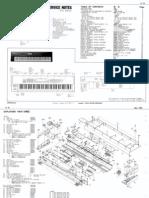 Roland D-70 Service Notes