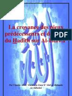 La croyance des pieux prédécesseurs et des gens du Hadîth sur Al-Istawâ'