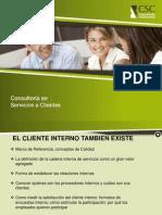 El cliente interno también existe.Contact Time. Cecilia Solano.