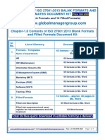 ISO 27001:2013 Forms