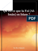 Qu'est ce que la Foi [Al-Imân] en Islam