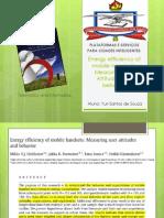 Energy Efficiency of Mobile Handsets