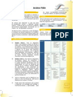 Analisis FODA - Salud
