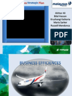 Malaysia Airline Strategic Plan