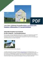 """wbwp Heinz von Heiden Energiewendehaus nach KfW-Standard """"Effizienzhaus 70"""""""