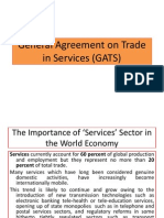 General Agreement on Trade in Services (GATS