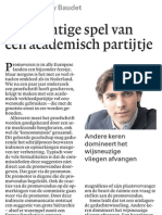 Thierry Baudet deelt gratis drank uit