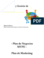MYPES - Plan de Marketing