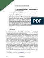 Enhancement Carotenoid Production