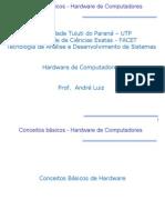 Conceitos básicos - Hardware de Computadores