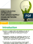 A Multi-Objective Optimization for Green Supply Chain Network - SHE
