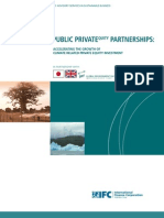 Public Private Equity Partnerships and Climate Change