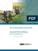 IFC Sustainability Framework